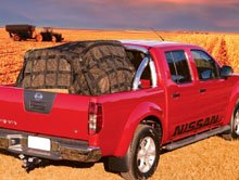 Cargo Net on Farm Ute – Red